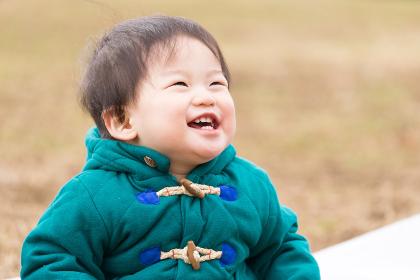 子供・笑顔(男の子)