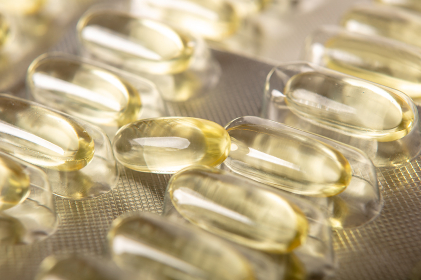 Omega 3 fish oil pills with epa and dha