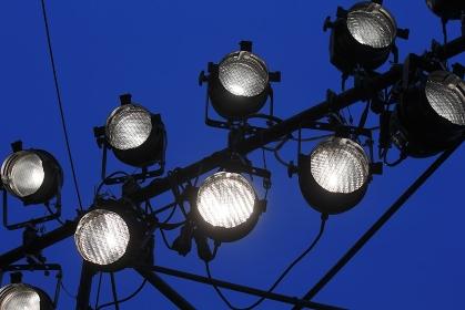 イベント会場の照明器具