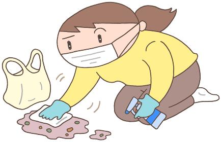 ノロウイルス対策・汚物除去