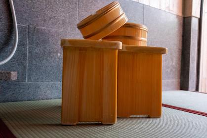 木桶 温泉