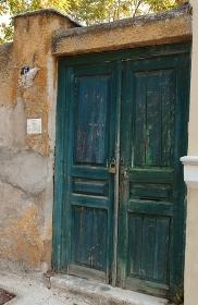 古代ギリシャに作られた木造玄関