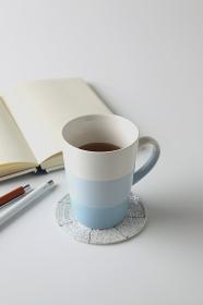 紅茶と筆記用具