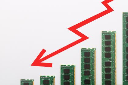 PC基盤を使った棒グラフと矢印