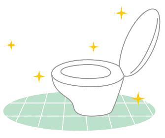 綺麗なトイレ ピカピカ