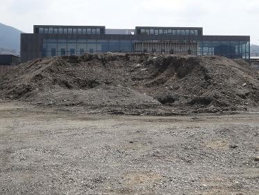 建築用地の土壌