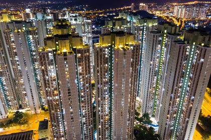Tin Shui Wai, Hong Kong, 06 September 2018:- Hong Kong residential district
