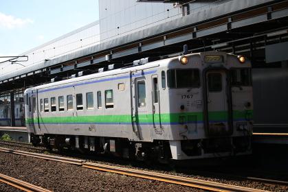 函館本線新函館北斗駅キハ40形
