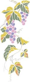 きり絵葡萄