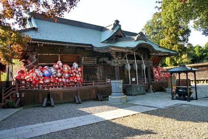 群馬県高崎市の達磨(だるま)寺