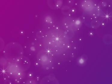 星空風 キラキラの背景素材/紫グラデーション/横長