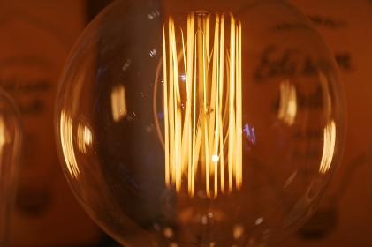 レトロな照明 エジソン電球