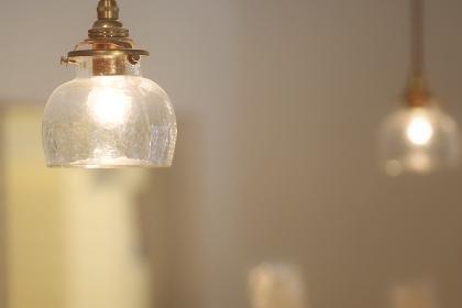 かわいい雰囲気のランプシェード
