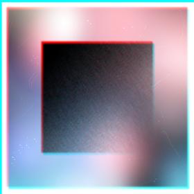 抽象的な光のボケ背景にコピースペース