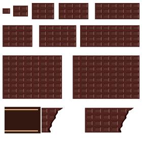 イラスト素材 チョコレート シームレス