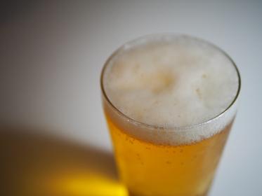 休日の午後のビール