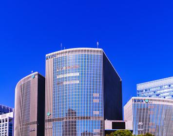 有楽町 数寄屋橋 朝日新聞社 LUMINE 松竹 【東京都の都市風景】
