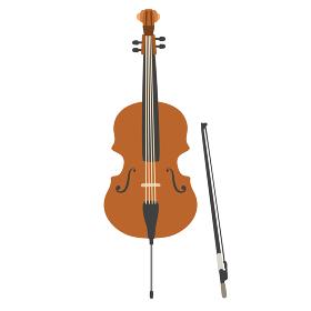 チェロのベクターイラスト オーケストラ ブラ