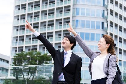 ビジネスイメージ(目標・建物・都市・男女)