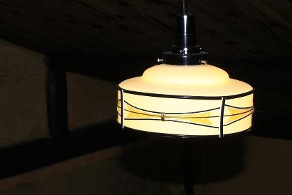 和室の和風ランプ