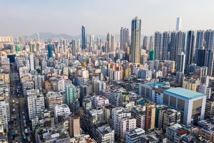 Sham Shui Po, Hong Kong, 11 September 2018:- Hong Kong city