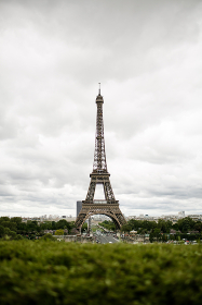 Full View of Eiffel Tower in Paris