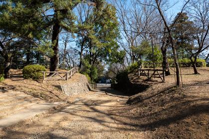 岩槻城の本丸跡 埼玉県さいたま市