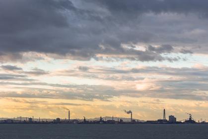 東京湾アクアライン・海ほたるPAからの風景