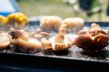 バーベキュー BBQ 野菜焼き