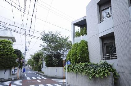 渋谷区大山町の住宅街