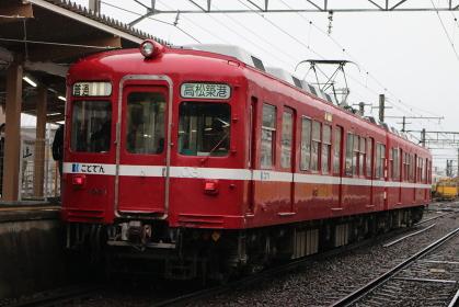 ことでん1080形電車〜京急ラッピング〜