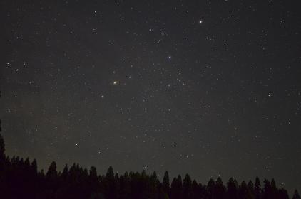 小国町からの星空