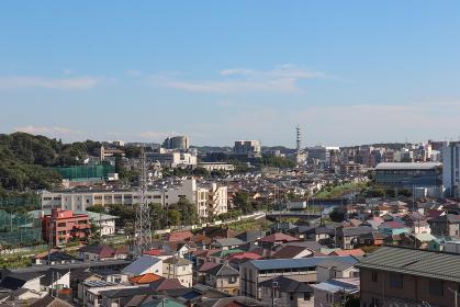 藤沢の街並み(神奈川県藤沢市)