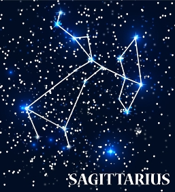 Symbol Sagittarius Zodiac Sign. Vector Illustration. EPS10. Symbol Sagittarius Zodiac Sign. Vector Illustration.