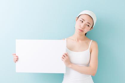 美容イメージ ホワイトボード 考える