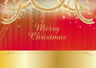 豪華なブルーカーテン(コーンサート、クリスマス)