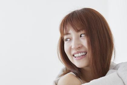 日本人女性の横顔