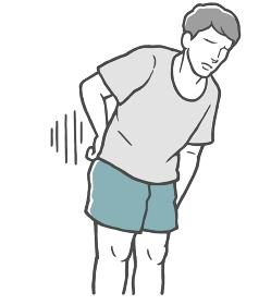 腰痛 腰 痛い 若い男性
