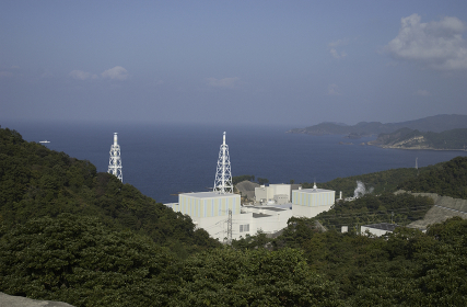 鹿島原子力発電所 島根県鹿島町, 中国地方, 中