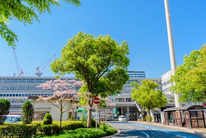 小倉駅北口付近の景観 福岡県北九州市