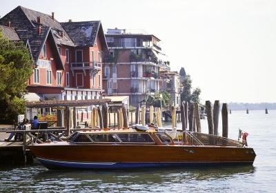 ベネチアの水上タクシー