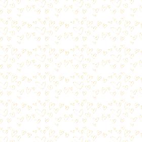 ゴールドハートの背景素材