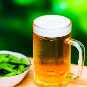 ビール 枝豆 アウトドア【 夏 の イメージ 】