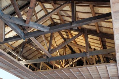 木造建屋の天井構造
