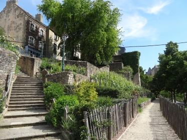 中世の街並みが残る旧市街、フランス・ルマン