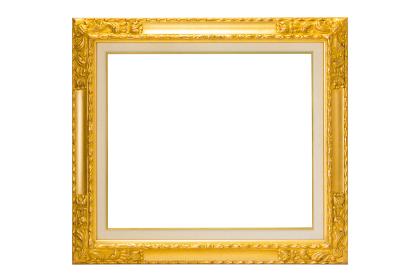 絵画の額(フレーム以外は完全な白)