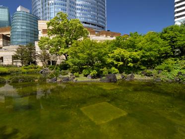 六本木ヒルズの毛利庭園 東京都