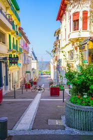 フランス・エヴィアンの街並