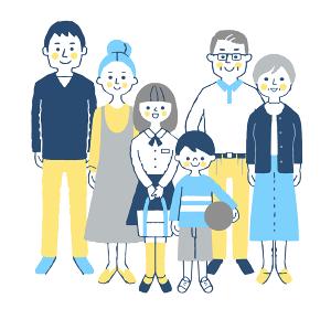 3世代家族 集合