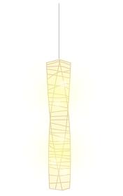 和風な吊り下げ照明のイラスト